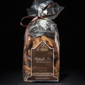 Biscuits au coco agrémentés d'éclats de Chocolat